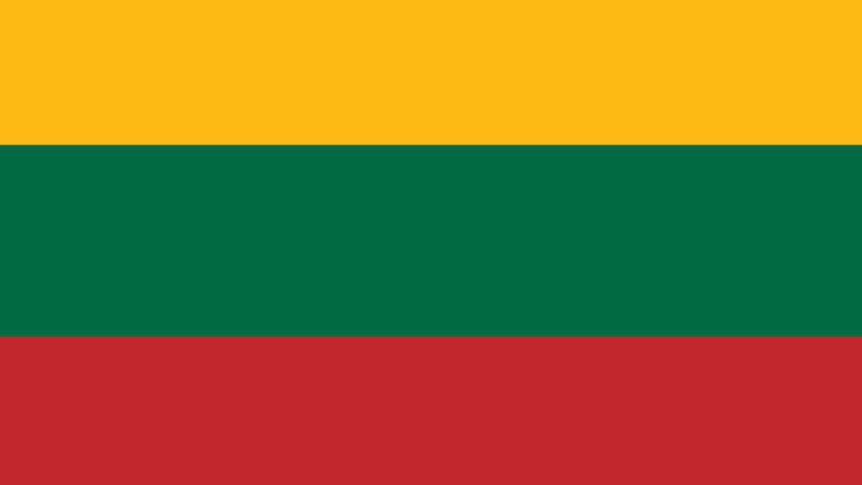 [Nuotrauka] Trispalvė vėliava naudota po Lietuvos nepriklausomybės kovų